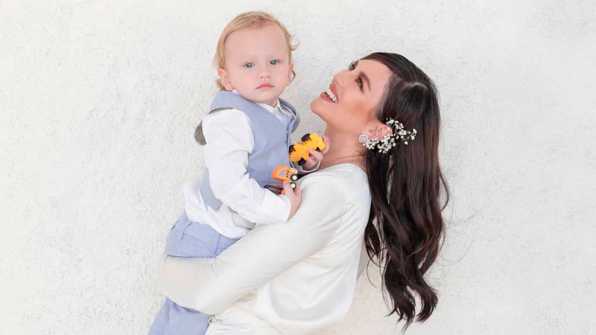 Georgina Wilson Proves That She And Baby Archie Are Basically *Twins*