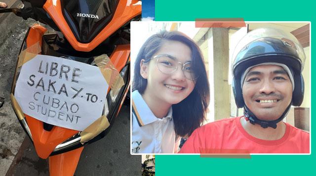 Libreng Sakay Para Sa Mga Estudyante, Panata Ng Isang Amang May Sakit Ang Anak