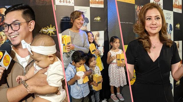 Esmyuskee! Ang TV Stars Nag-Reunion At Ilan Sinama Ang Mga Anak