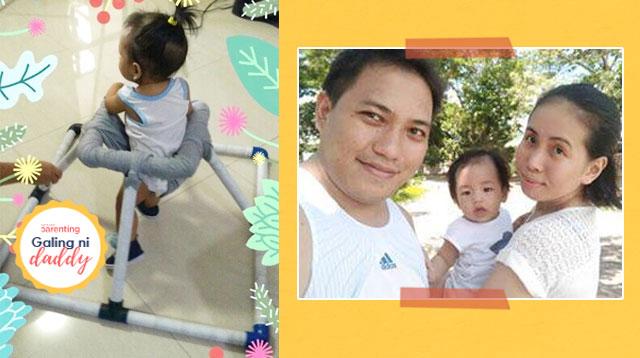 Galing Ni Mommy At Daddy! #Goals Ang DIY Andador Ng Mag-Asawang Ito