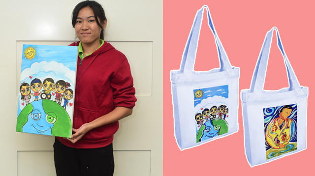 Thinking Of Gifts For Christmas? These Tote Bags Are Made With Love By PWDs