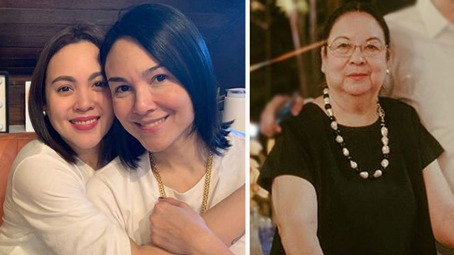 Inday Barretto Welcomes Gretchen With Tight Embrace At Wake of Family Patriarch