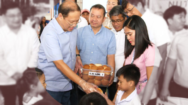 Marikina Government Gives Free Bread, Milk to Students To Fight Malnutrition