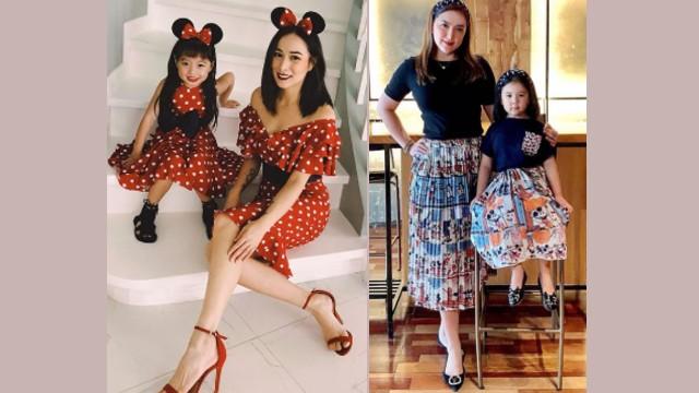 Ang Magkapatid Na Si Ara Mina At Cristine Reyes Mahilig Makipag-Twinning Sa Mga Anak!