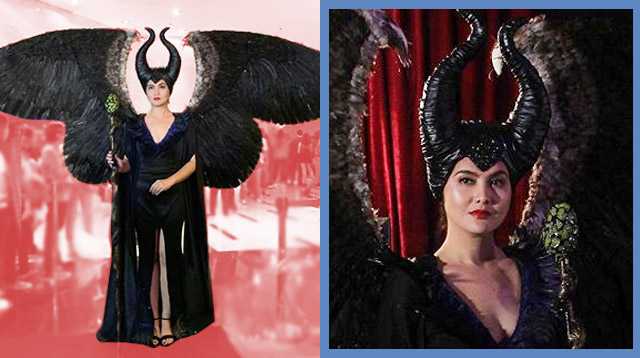 Dimples Romana Slays As Maleficent At The Black Magic Party!