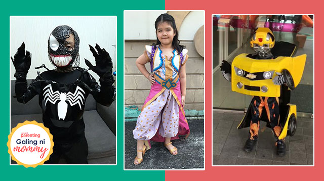 Trick Or Treat! 18 Nakakabilib DIY Halloween Costumes Made By Pinoy Parents