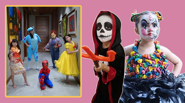 Zia Dantes, The Kramers, Pele Escueta And More Celebrity Kids Are Ready For Halloween!