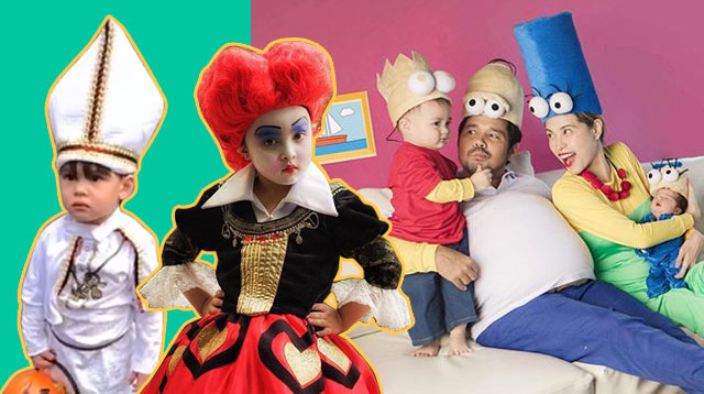 Baltie, Zia, Primo, Scarlet Snow And More Celeb Kids Step Out In Their Halloween Best!