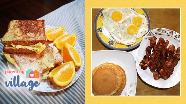 Maniniwala Ka Bang Minadali Lang Ng Mga Nanay Ang Mga Breakfast Na Ito?
