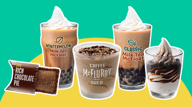 Indulge Your Family's Sweet Tooth! McDonald's Just Came Out With 4 Holiday Desserts