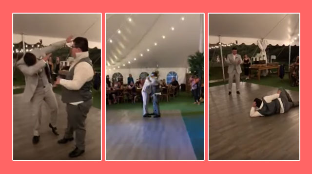This Teen With Down Syndrome Challenged The Groom To An Epic Dance-Off At A Wedding!