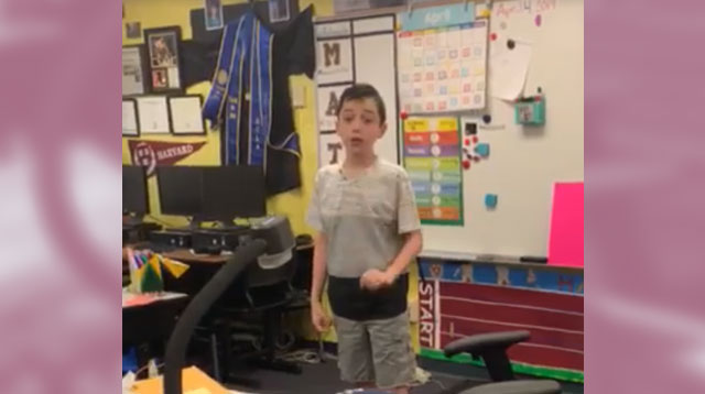 Fourth-Grader With Autism Gives Touching Speech About Being On The Spectrum