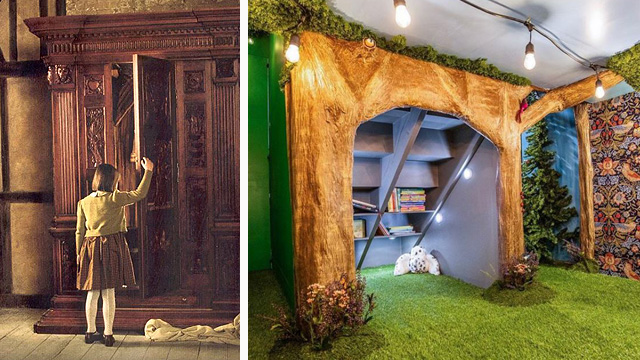LOOK: Mom Transforms Den Into A 'Chronicles of Narnia'-Themed Playroom