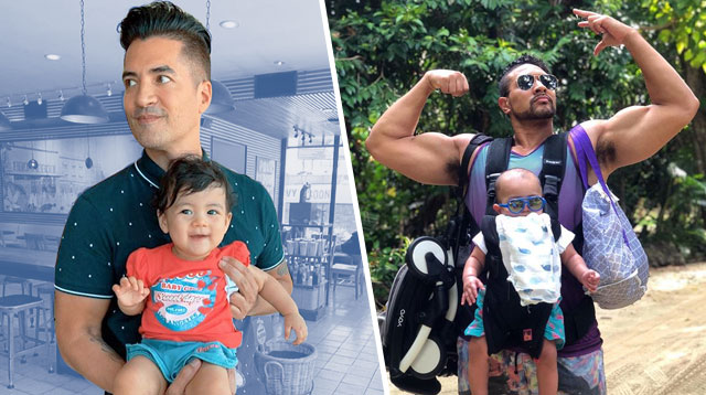 Eric Tai, Troy Montero Prove Baby Care Duties Are Not Just Exclusively For Moms