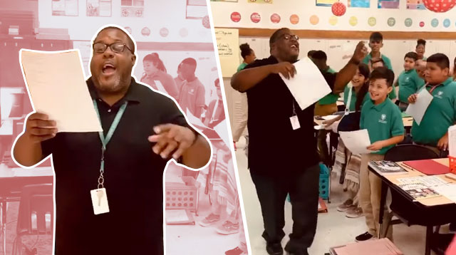 Teacher Makes Math Fun For Students By Creating Catchy Songs!