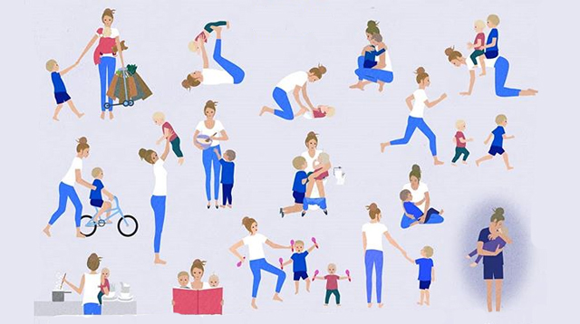 A Mom Illustrates The Invisible Work Mothers Do That Others Don't Always See