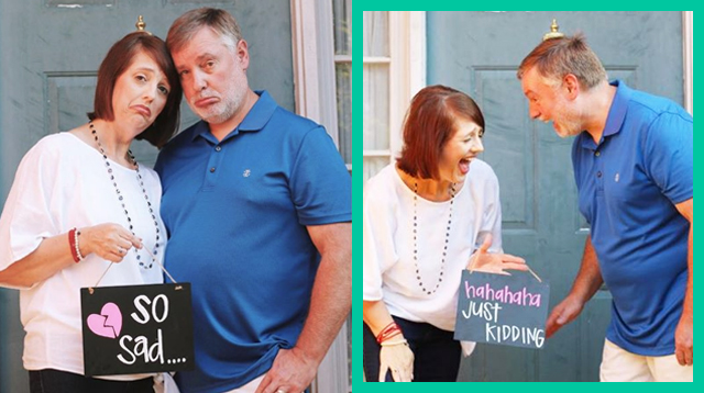 Parents Stage Celebratory 'Empty Nest' Photo Shoot To Show Life After Kids Is Exciting