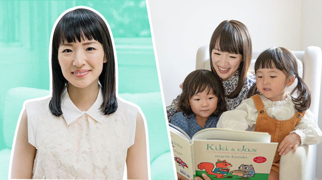 Marie Kondo Admits Her Popular KonMari Method Is Hard To Do For Parents Of Toddlers