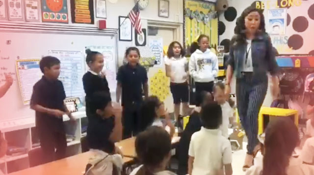 'Turns Out I'm 100% That Smart': Teacher Uses Pop Song To Motivate Her Students