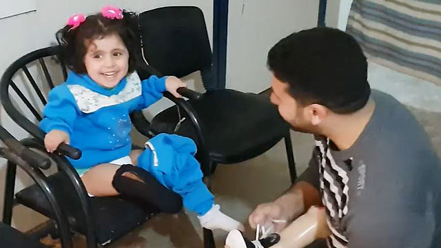 'I Am Beautiful': 3-Year-Old Amputee Gets A New Prosthetic Leg