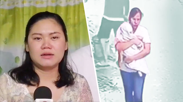 Netizens Up In Arms Over CCTV That Allegedly Shows Yaya Abducting 5-Month-Old Alaga