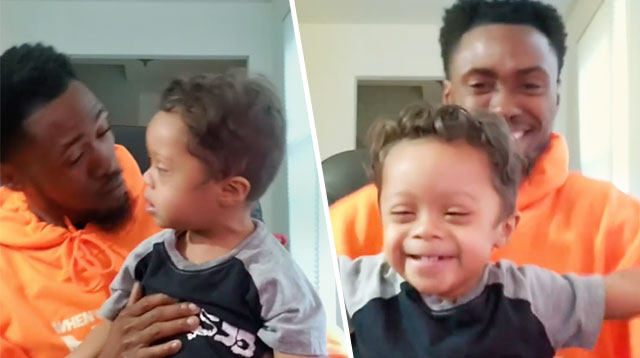 Toddler Dances With Dad to Celebrate 11 Months Cancer-Free