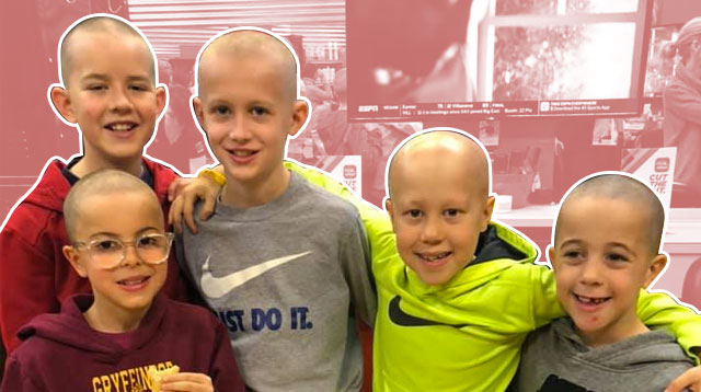 A Good Deed Indeed! Classmates Shave Their Heads to Support Their Friend With Alopecia