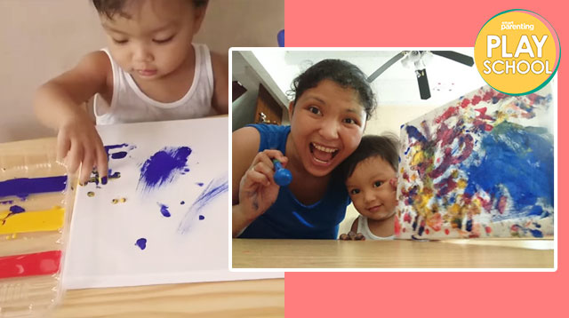 Keep Your Child Entertained With This DIY Painting Activity For Less Than Php500!