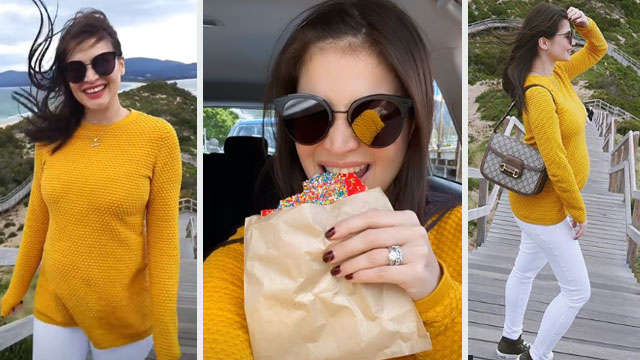 Anne Curtis Is Already Feeling These Pregnancy Symptoms