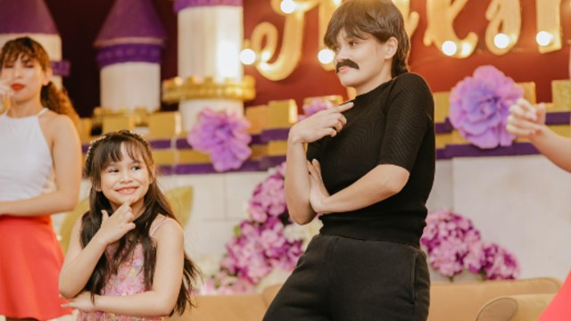Yasmien Kurdi (Yes, With The Mustache!) Is One Cool Mom At Daughter's 7th Birthday Party