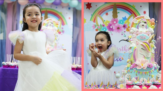 Zia Dantes Marks Her 4th Birthday With Two Celebrations!