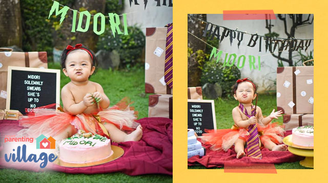 DIY Harry Potter Cake Smash Pictorial Sa Halagang P2,000