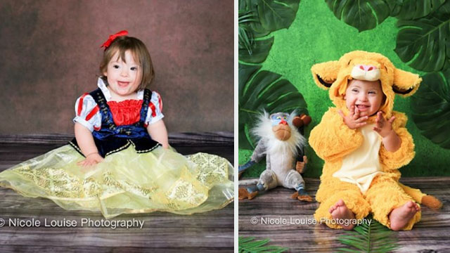 LOOK: Kids With Down Syndrome Dress Up As Disney Characters