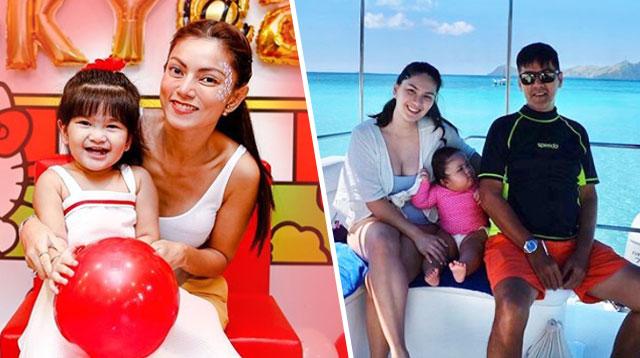Pauleen At Maricar, Challenging Pero Enjoy Ang Toddler Stage Ng Kanilang Unica Hija