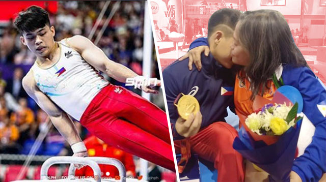 Champion Gymnast Carlos Yulo Shares Tender Moment With His Mom After SEA Games Gold Win