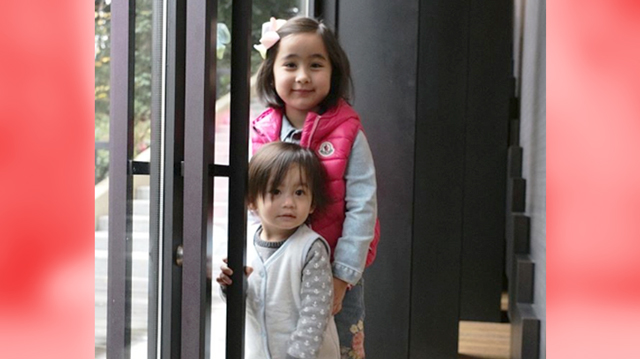Scarlet Snow Belo Makes A New Friend: John Lloyd Cruz And Ellen Adarna's Son Elias!