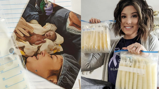 I Could Save Another Baby's Life: Mom Whose Son Died 3 Hours After Birth Donates Milk
