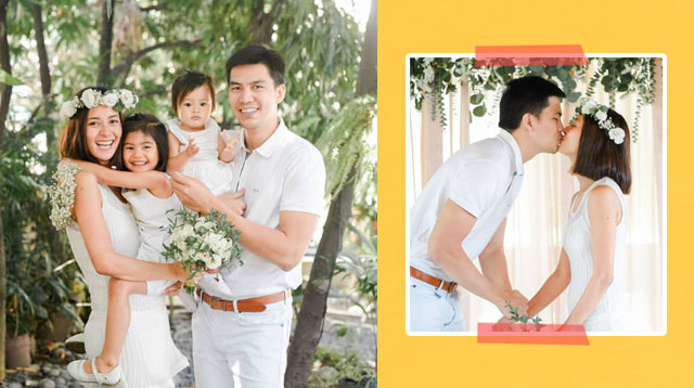 Bianca Gonzalez And JC Intal Mark Their 5th Anniversary By Renewing Their Vows