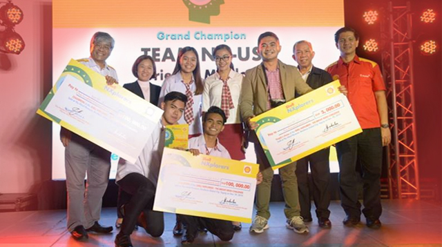 High School Students Awarded For Their Inventions At The Youth Tackle Nexus Issues Awards