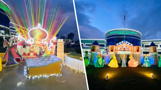 LOOK: This Christmas Village In Misamis Oriental Features Your Kids' Fave Disney Characters