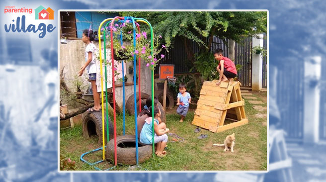 Paano Bawasan Ang Screentime? Bumuo Ng Upcycled DIY Playground