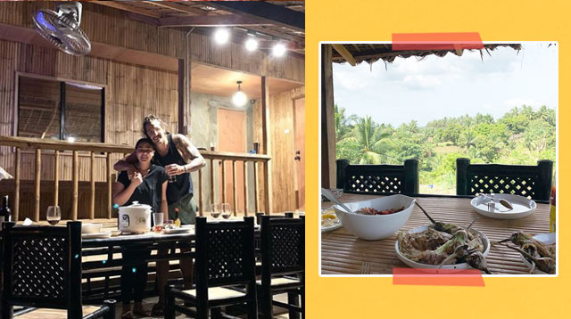Take A Peek At Gwen Zamora And David Semerad's Bahay Kubo-Inspired Cabin!