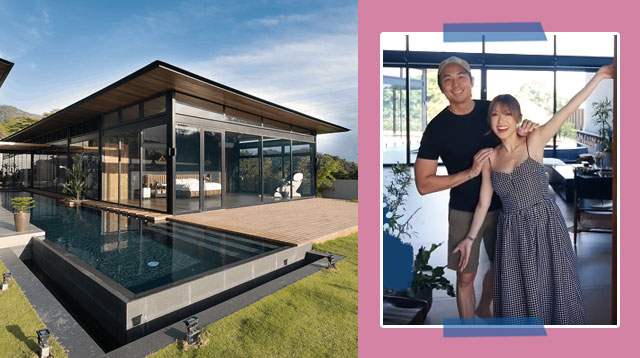 Take A Tour Of Slater Young And Kryz Uy's New Modern Industrial Home In Cebu