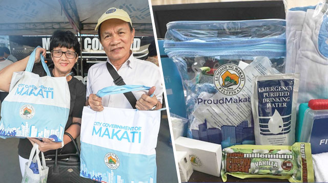 Makati Residents Get Noche Buena, Cash Gifts, Baby Care Kits, And More This Christmas