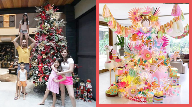 'Tis The Season For Awesome Celebrity Christmas Trees! Spot Polar Bears, Swans, And Donkeys