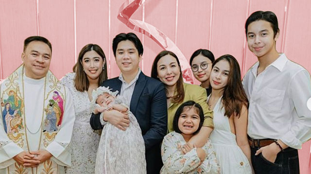 Dani Barretto's Daughter Millie Gets Baptized