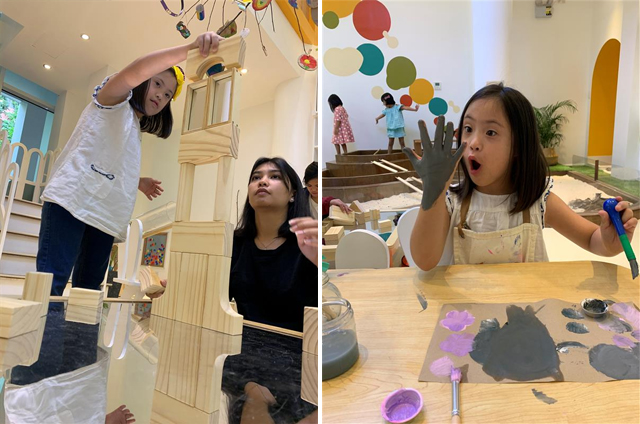 one hundred ways atelier learn through play