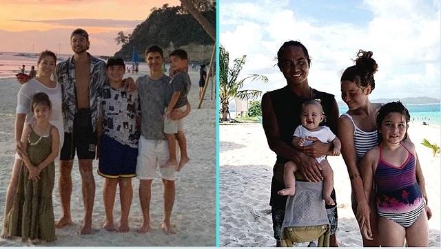 Ilang Celebrity Families Binati Ang Bagong Dekada Sa Beach!