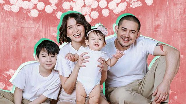 Tignan Ang Adorable Photos Ng Anak Ni LJ At Paolo Sa Okasyon Ng Kanyang 1st Birthday