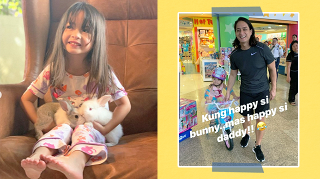 Luna Agoncillo Chose A Bicycle As Her Gift For Her 4th Birthday